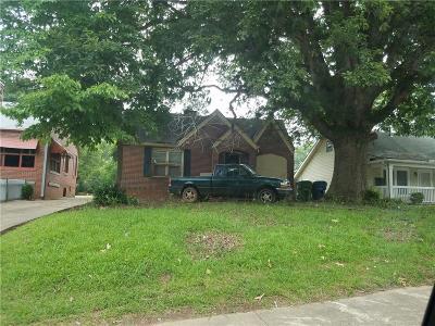 Atlanta Single Family Home For Sale: 1037 Mayson Turner Road NW
