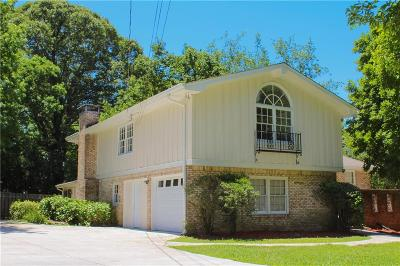 Single Family Home For Sale: 4767 Dunwoody Club Drive