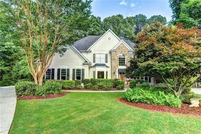 Alpharetta GA Single Family Home For Sale: $595,000