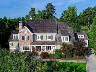 Milton Single Family Home For Sale: 480 Majestic Cove