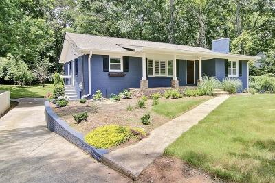 Marietta Single Family Home For Sale: 518 Whitlock Avenue NW