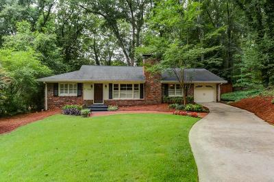 Sandy Springs Single Family Home For Sale: 4660 Canyon Creek Trail