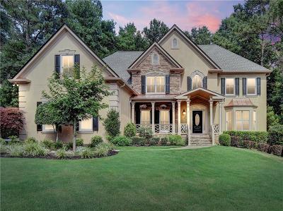 Marietta Single Family Home For Sale: 4781 Old Timber Ridge Road NE