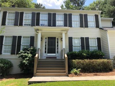 Marietta Single Family Home For Sale: 2159 Heritage Trace Drive