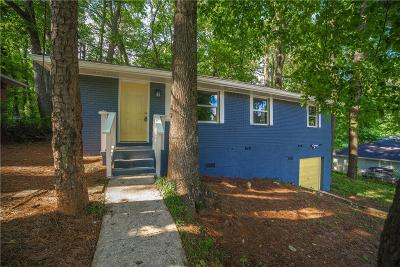Decatur GA Single Family Home For Sale: $167,500