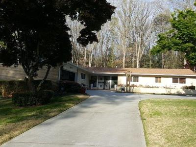 Decatur Single Family Home For Sale: 2266 Crestknoll Circle