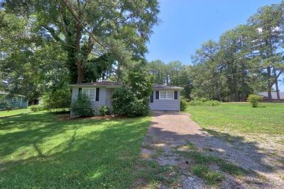 Single Family Home For Sale: 71 Cooper Lake Road SW