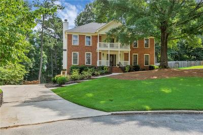 Suwanee Single Family Home For Sale: 1040 Swan Mill Court