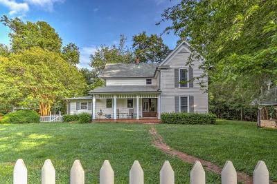 Single Family Home For Sale: 121 Julian Farm Road