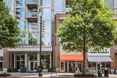 Atlanta Condo/Townhouse For Sale: 855 Peachtree Street NE #1805