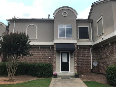 Atlanta GA Condo/Townhouse For Sale: $169,000