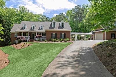 Marietta Single Family Home For Sale: 810 Gordon Combs Road