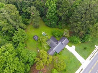 Marietta Single Family Home For Sale: 910 John Ward Road SW