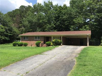 Loganville Single Family Home For Sale: 3680 Sunny Hill Drive