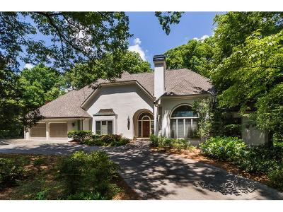 Sandy Springs Single Family Home For Sale: 1155 Old Powers Ferry Road