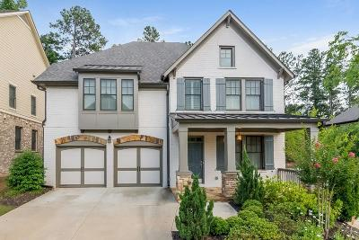 Alpharetta GA Single Family Home For Sale: $595,000