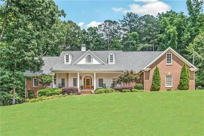 Kennesaw Single Family Home For Sale: 456 Laurel Hill Court NW