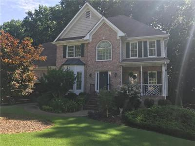 Lawrenceville Single Family Home For Sale: 820 Forest Oak Drive SW