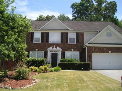Woodstock GA Single Family Home For Sale: $239,900