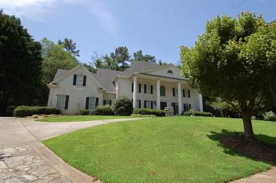 Roswell Single Family Home For Sale: 605 Winnmark Drive