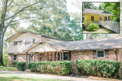 Single Family Home For Sale: 3010 Hathcock Road