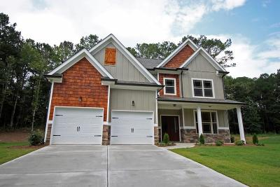 Cartersville Single Family Home For Sale: 21 Branchcreek Pass SE