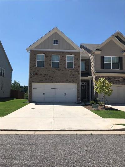 Lawrenceville Condo/Townhouse For Sale: 869 Arbor Crowne Drive #92