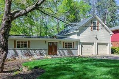 Sandy Springs Single Family Home For Sale: 34 W Belle Isle Road