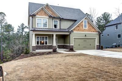Cartersville Single Family Home For Sale: 15 Weather View Trail SE