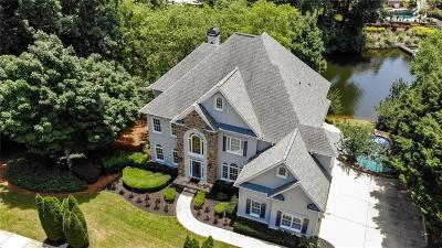 Alpharetta, Atlanta, Dunwoody, Johns Creek, Milton, Roswell, Sandy Springs Single Family Home For Sale: 2120 Lake Shore Landing