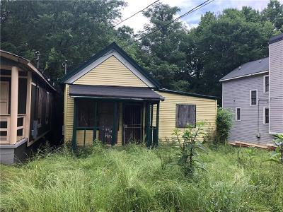Atlanta GA Single Family Home For Sale: $75,000