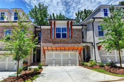 Johns Creek Condo/Townhouse For Sale: 5204 Cresslyn Ridge