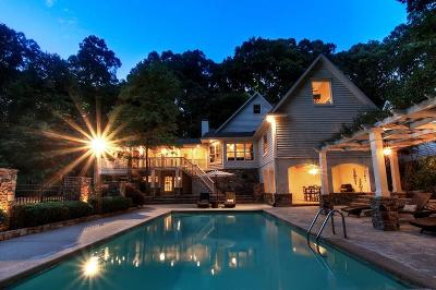 Single Family Home For Sale: 1586 Cave Road NW