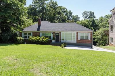 Brookhaven Single Family Home For Sale: 1690 North Druid Hills Road NE