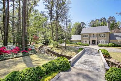 Atlanta Single Family Home For Sale: 3700 Tuxedo Road NW