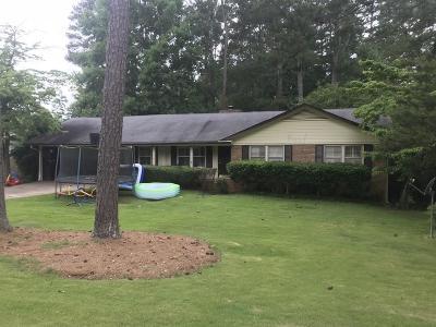Marietta Single Family Home For Sale: 1732 Kimberly Lane SW