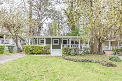 Atlanta Single Family Home For Sale: 2059 Lenox Road NE