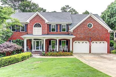 Acworth Single Family Home For Sale: 1348 Fallsbrook Drive NW