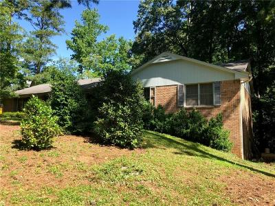 Roswell Single Family Home For Sale: 285 Cox Road