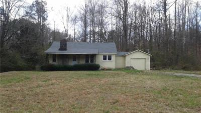 Dacula Single Family Home For Sale: 1285 Winder Highway