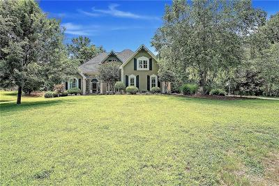 Alpharetta, Milton Single Family Home For Sale: 14455 Thompson Road