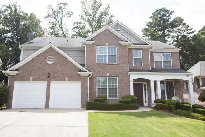 Lawrenceville Single Family Home For Sale: 1540 Heatherglade Lane