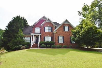 Monroe Single Family Home For Sale: 9021 White Oak Circle