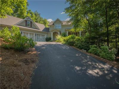 Big Canoe Single Family Home For Sale: 354 Wild Pansy Circle