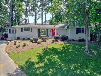 Brookhaven Single Family Home For Sale: 2034 Bramblewood Drive NE