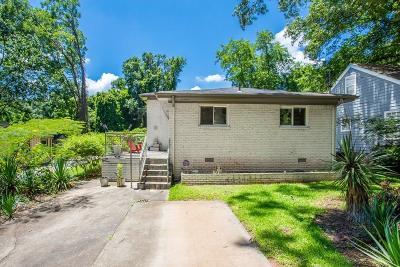 Atlanta Single Family Home For Sale: 439 Ashburton Avenue SE