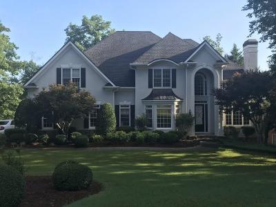 Alpharetta Single Family Home For Sale: 9075 Nesbit Lakes Drive