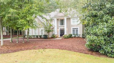 Suwanee Single Family Home For Sale: 740 Riverhaven Drive