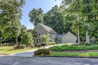 Sandy Springs Single Family Home For Sale: 250 Amherst Court