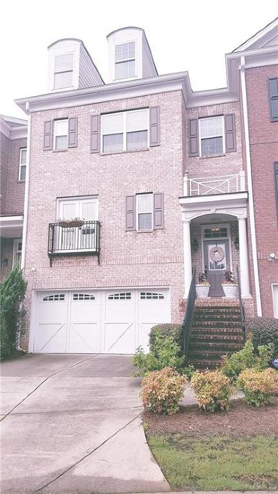 Alpharetta  Condo/Townhouse For Sale: 12868 Deer Park Lane #62